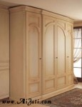 Almari Modern 4 Pintu Terbaru Minimalis Kayu Jati