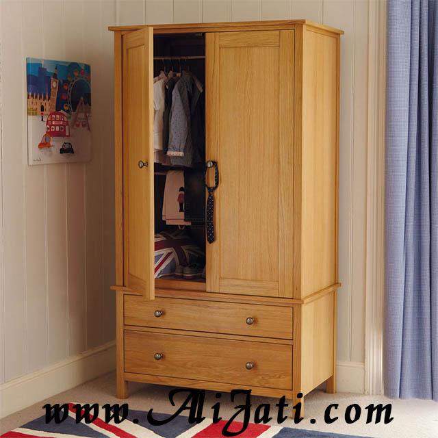 almari pakaian anak dua pintu terbaru