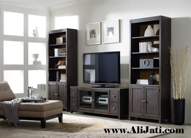 bufet tv minimalis model eroupa terbaru kayu jati