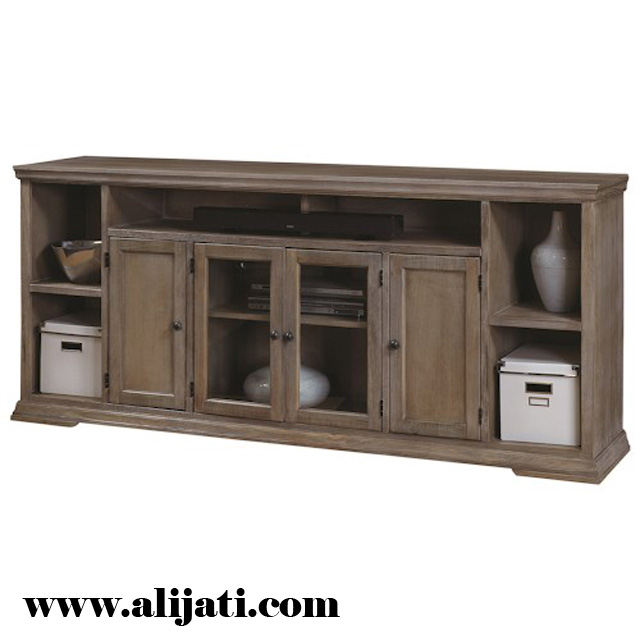 bufet tv minimalis model vietnam klasik kayu jati