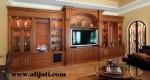 Bufet Tv Besar Mewah Minimalis Jati Klasik