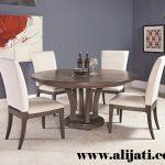 meja makan 4 kursi kayu jati minimalis