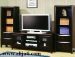 Bufet Tv Kayu Jati Perhutani Mewah Minimalis