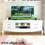 Bufet Tv Klasik Cat Duco Putih Minimalis