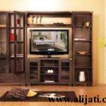 bufet tv minimalis jati belanda terbaru