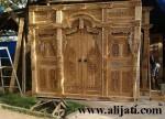 Gebyok Pintu Jati Ukir Ramayana Terbaru