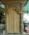 Gebyok Pintu Rumah Minimalis Modern