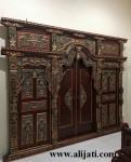 Gebyok Pintu Rumah Ukir Majapahit Klasik