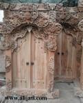 Gebyok Pintu Rumah Ukir Mewah Kayu Jati
