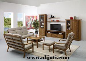 Kursi Tamu Rumah Model Klasik Kayu Jati