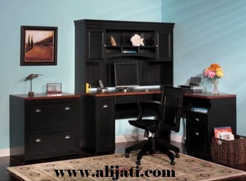 meja belajar kantor mewah modern terbaru