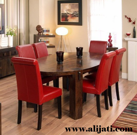 meja makan klasik minimalis kayu jati