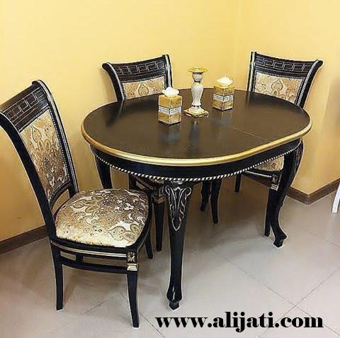meja makan simple terbaru kayu jati klasik