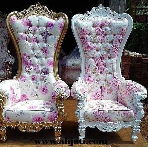 sofa cantik super mewah kayu jati