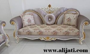 Sofa Cantik Ukir Khas Jepara Kayu Jati