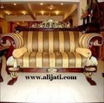 Sofa Mewah Terbaru Cat Natural Melamin