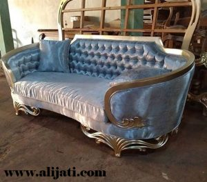 Sofa Mewah Ukir Jepara Kayu Jati Modern