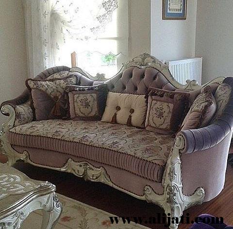 sofa model klasik kayu jati perhutani
