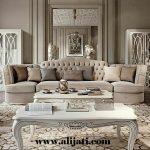 sofa santai besar kayu jati asli jepara