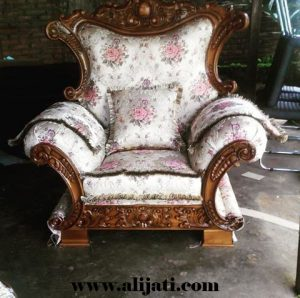 Sofa Santai Desain Terbaru Kayu Jati
