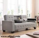 Sofa Santai Minimalis Kayu Jati Perhutani