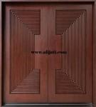 Pintu 3D Kayu Jati Minimalis Terbaru