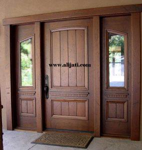 Pintu Kayu Jati Minimalis Desain Terbaru