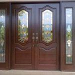 pintu kupu tarung rumah minimalis