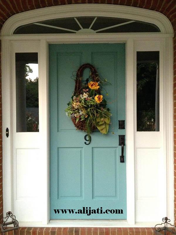 pintu minimalis cat duco terbaru kayu jati