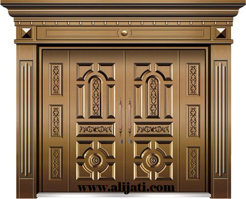 pintu minimalis desain super mewah kayu jati