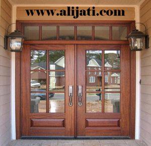 Pintu Minimalis Kayu Jati Perhutani
