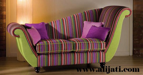 sofa santai unik kayu jati perhutani