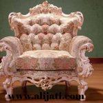sofa super mewah kayu jati ukir klasik