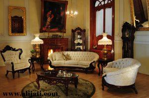 Sofa Tamu Cat Salak Melamin Terbaru