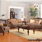 sofa tamu desain klasik terbaru jati