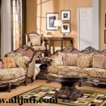 sofa tamu khas eropa kayu jati perhutani