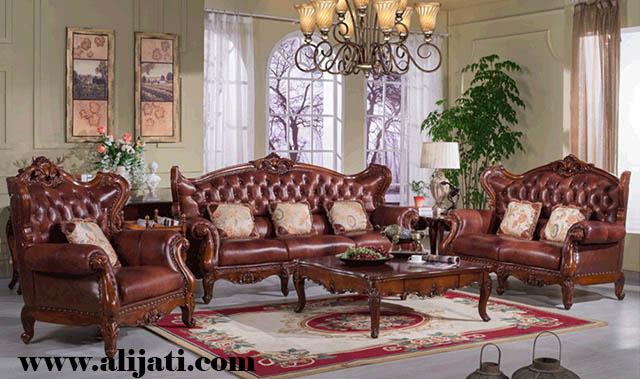 sofa tamu mewah jok oscar terbaru