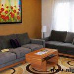 sofa tamu minimalis jati desain modern