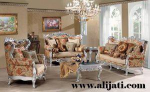 Sofa Tamu Ukir Mewah Khas Jepara Terbaru
