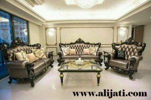 Sofa Tamu Ukir Super Mewah Terbaru