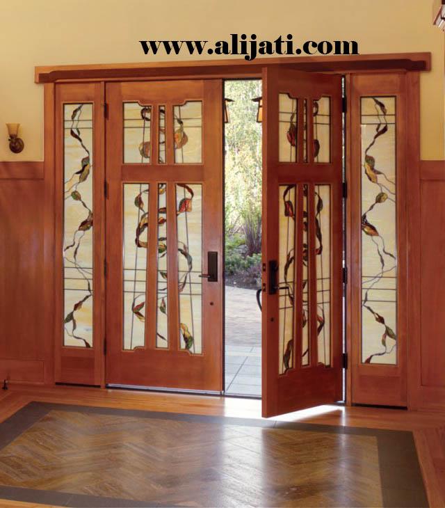 pintu minimalis mewah terbaru jati