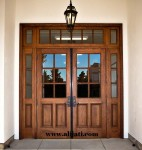 Pintu Minimalis Model Eropa Kayu Jati
