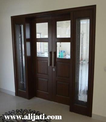 pintu minimalis model now kayu jati