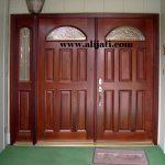 pintu minimalis rumah mewah terbaru