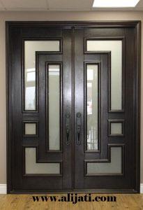 Pintu Minimalis Zaman Now Kayu Jati