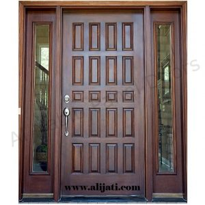 Pintu Rumah Cantik Kayu Jati Terbaru