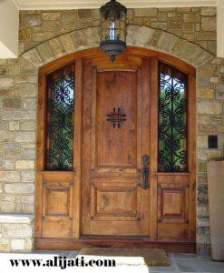 Pintu Rumah Desain Belanda Kayu Jati