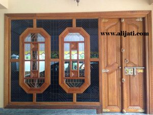 Pintu Rumah Desain Klasik Model Terbaru