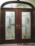 Pintu Rumah Kaca Cantik Terbaru Kayu Jati