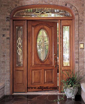 pintu rumah kaca mewah terbaru kayu jati